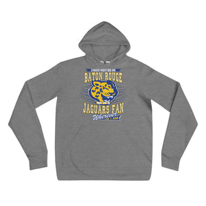 Premium Adult Wherever I Am- Southern Jaguars Fleece Pullover Hoodie