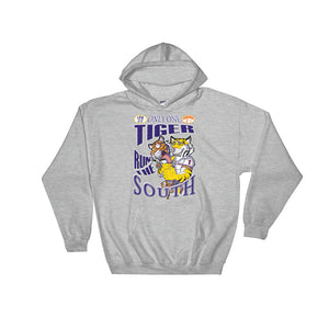 Adult LSU vs Auburn 2018 Hooded Sweatshirt