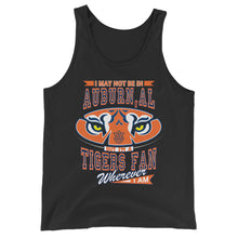 Load image into Gallery viewer, Premium Adult Wherever I Am- Auburn Tigers Tank Top