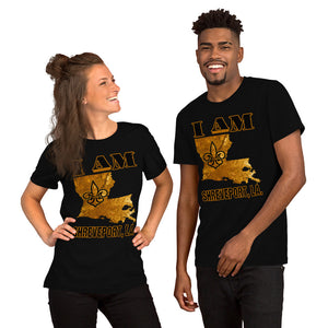 Premium Adult Short-Sleeve Unisex I AM SHREVEPORT T-Shirt