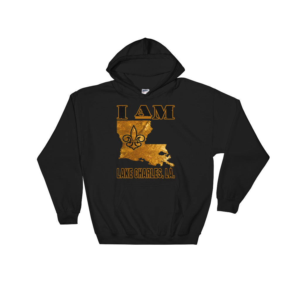 Adult I Am- Lake Charles Hooded Sweatshirt