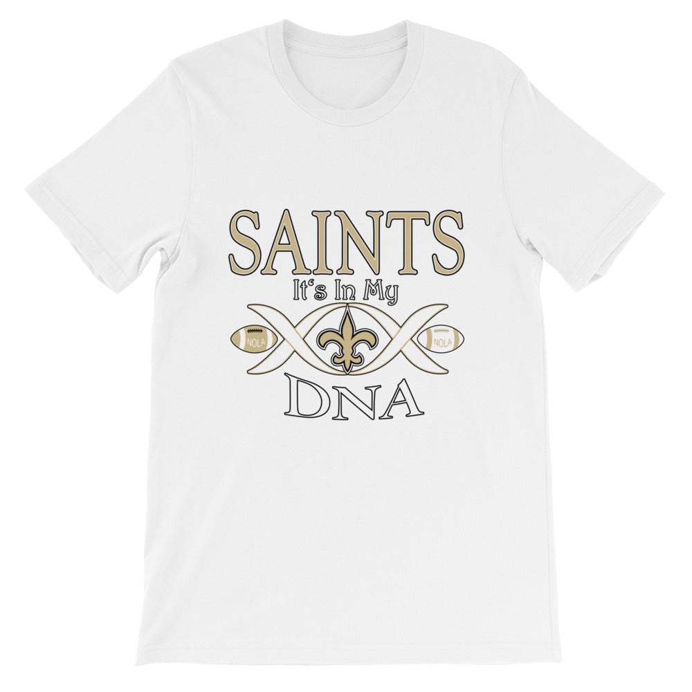 Premium Adult Saints in My DNA T-Shirt (SS)