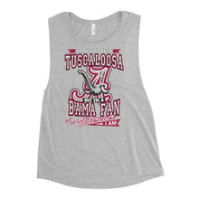 Load image into Gallery viewer, Premium Adult Ladies' Alabama Fan Wherever I Am Muscle Tank