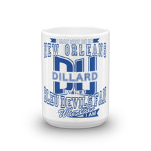 Load image into Gallery viewer, White Glossy Dillard Fan Wherever I Am Coffee Mug