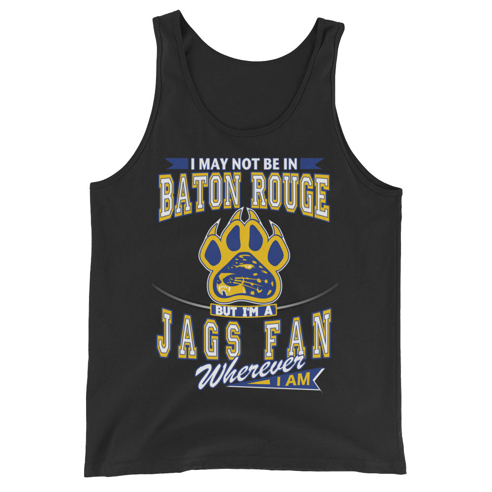 Premium Adult Wherever I Am- Southern Jaguars Tank Top