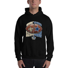 Load image into Gallery viewer, Adult House Divided Saints/Cowboys Hooded Sweatshirt