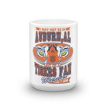 Load image into Gallery viewer, Wherever I Am- Auburn Tigers Coffee Mug