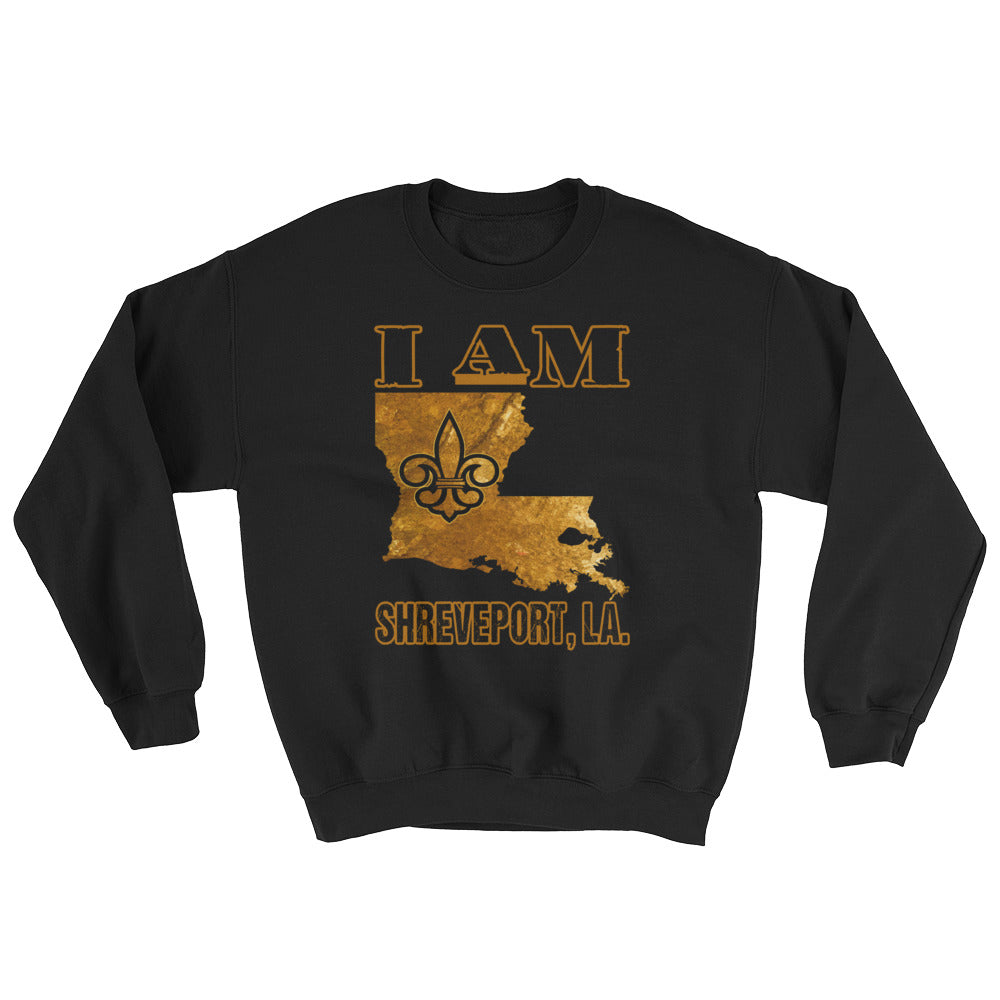 Adult I Am- Shreveport Crewneck Sweatshirt