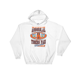 Adult Wherever I Am- Auburn Tigers Hooded Sweatshirt