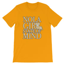 Load image into Gallery viewer, Premium Adult NOLA Girl State of Mind (LA) T-Shirt (SS)