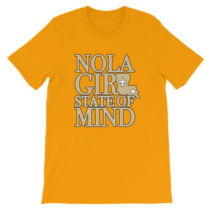 Premium Adult NOLA Girl State of Mind (LA) T-Shirt (SS)
