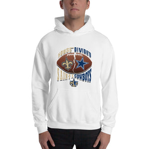 Adult House Divided Saints/Cowboys Hooded Sweatshirt