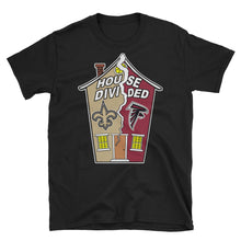 Load image into Gallery viewer, Adult Unisex House Divided Saints/Falcons T-Shirt (SS)