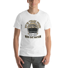 Load image into Gallery viewer, Premium Adult Short-Sleeve Its Time for Football T-Shirt