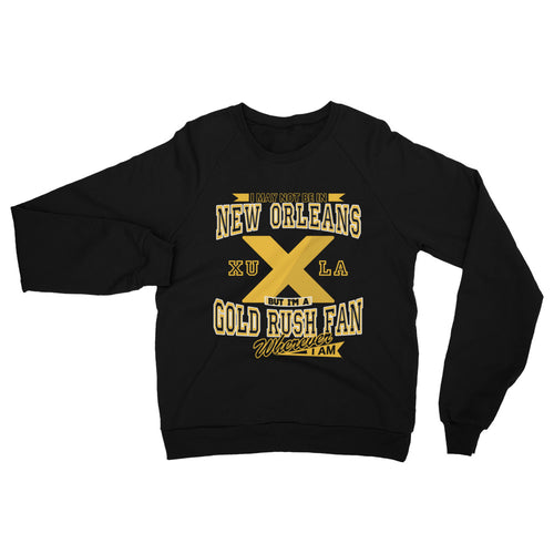 Adult Wherever I Am- Xavier Gold Rush Sweatshirt