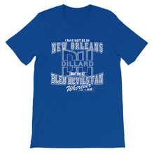 Load image into Gallery viewer, Premium Adult Short-Sleeve Blue Devil Fan- Wherever I Am T-Shirt