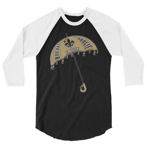 Adult Who Dat Boogie Shirt (3/4 Sleeve)