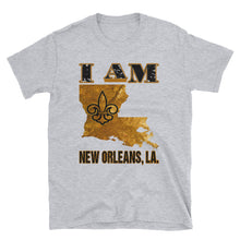 Load image into Gallery viewer, Adult Unisex I Am New Orleans T-Shirt (SS)