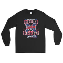 Load image into Gallery viewer, Adult Wherever I Am- Ole Miss T-Shirt (LS)