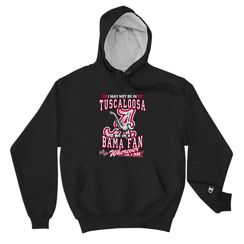 Premium Adult Wherever I Am- Alabama Crimson Tide Max Hoodie