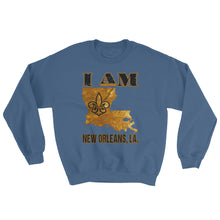 Load image into Gallery viewer, Adult Unisex I Am- New Orleans Crewneck Sweatshirt