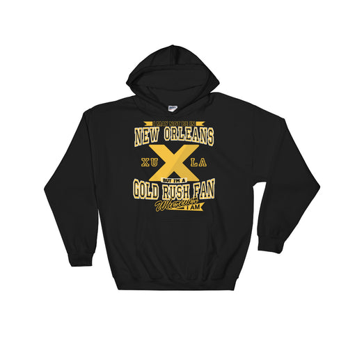 Adult Wherever I Am- Xavier Gold Rush Hooded Sweatshirt