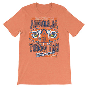Premium Adult Wherever I Am- Auburn Tigers T-Shirt (SS)