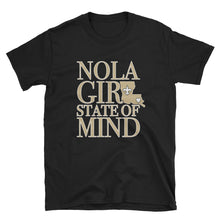Load image into Gallery viewer, Adult NOLA Girl State of Mind (LA) T-Shirt (SS)