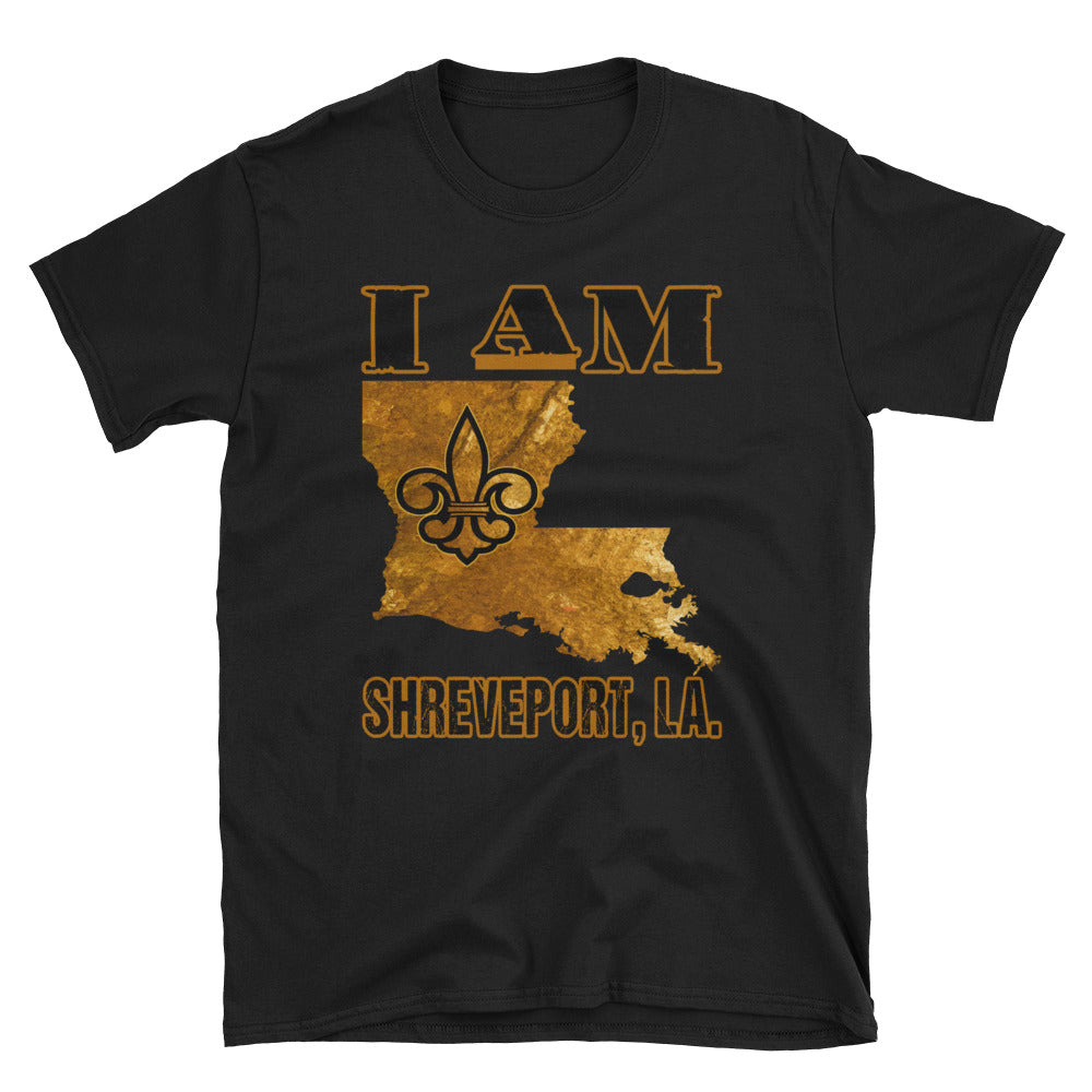 Adult Unisex I Am Shreveport T-Shirt (SS)