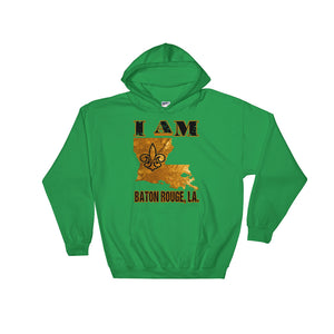 Adult Unisex Hoodie I Am Baton Rouge Sweatshirt