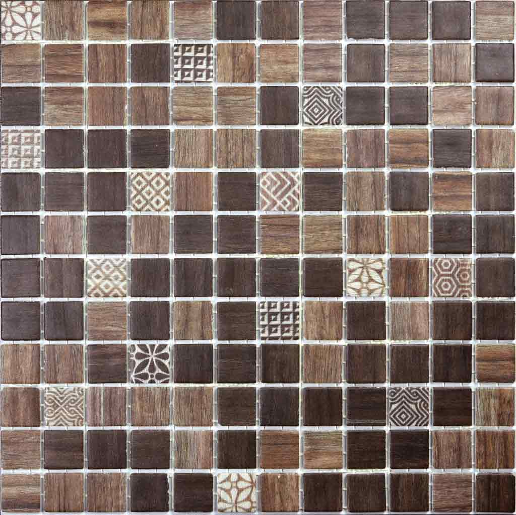 MOSAICO DECOR DIGITAL WOOD ALPES