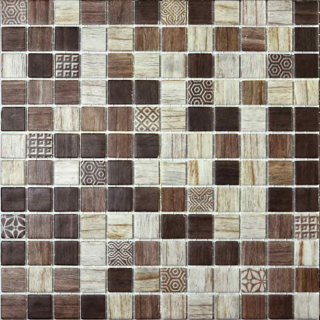 MOSAICO DECOR DIGITAL WOOD TOSCANA