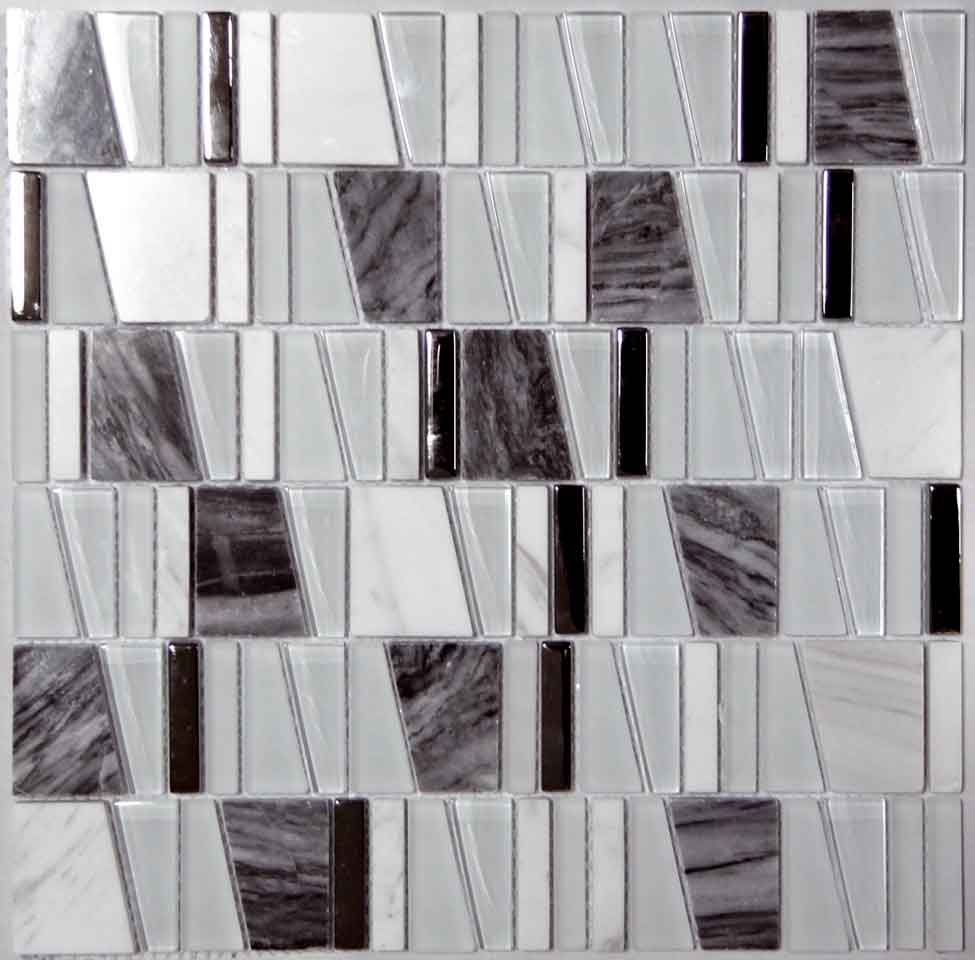 MOSAICO DECOR CHIC GRIS