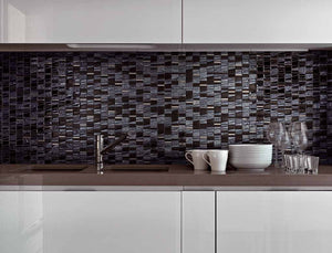 MOSAICO DECOR CHIC NEGRO