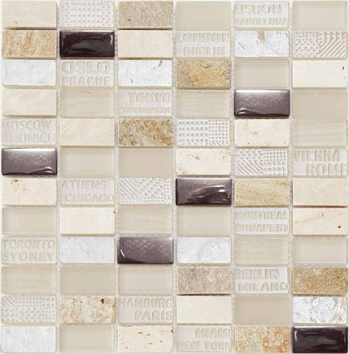 MOSAICO DECOR STAMP BEIGE