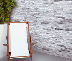 MOSAICO DECOR BRICK QUARTZ GRIS