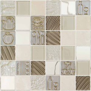 MOSAICO DECOR CUTLERY BEIGE