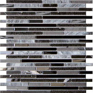 MOSAICO DECOR MARK NEGRO