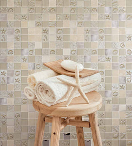 MOSAICO DECOR SEA BEIGE