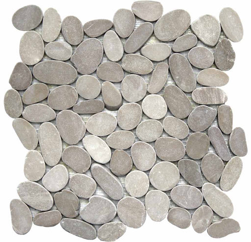 MOSAICO PEBBLE DECOR RIO EBRO BEIGE