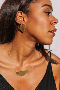 Geoformer earrings