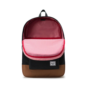 Herschel Heritage Backpack, Black Saddle/Brown