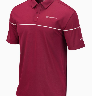 Columbia Men's Breaker Polo, Beet