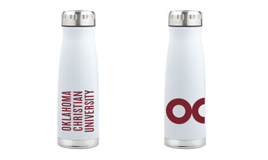 RFSJ 17 oz. Urban Insulated Bottle, White w/ Silver Lid