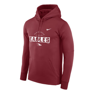 Nike Men's Therma PO Hoody, True Crimson