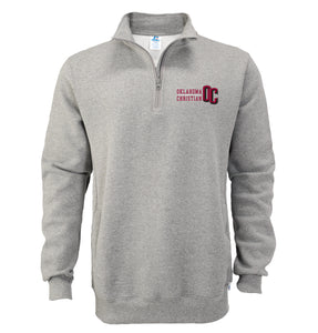 Russell Men's 1/4 Zip Fleece Pullover, Oxford