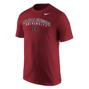 Nike Men's Core Cotton Short Sleeve Tee, Maroon