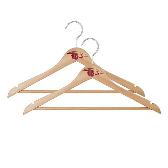 Spirit Products Alumni Wooden Hanger, 2 Pack