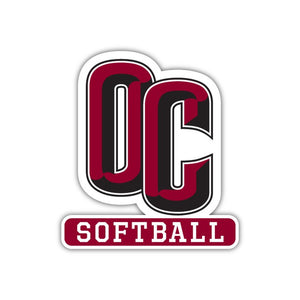 OC Softball Decal - M11