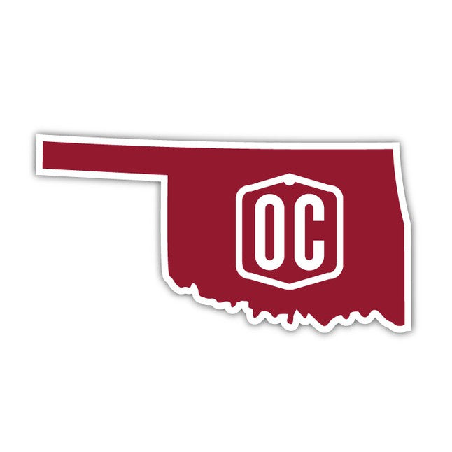 OC Home State Decal